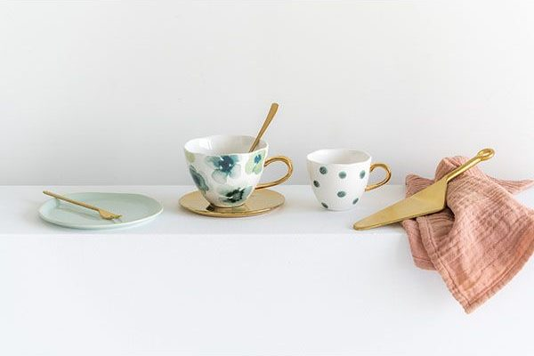 cup groen incl bordje